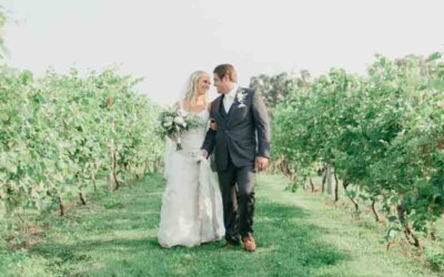Dacia & Chris | Cannon River Winery Vineyard Wedding