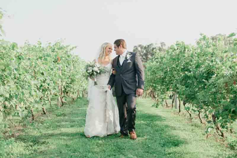 Dacia & Chris | Cannon River Winery Vineyard Wedding