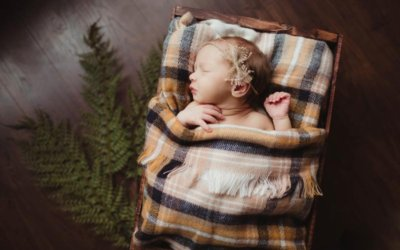 Charlotte | Lifestyle in Home Newborn Session